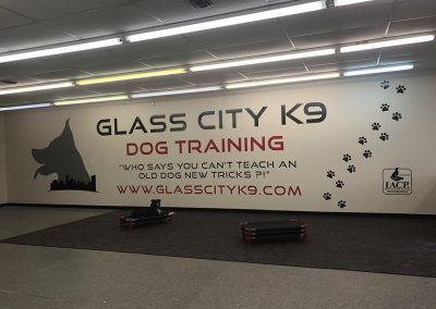 Glass City K9 training area at our Toledo OH location.