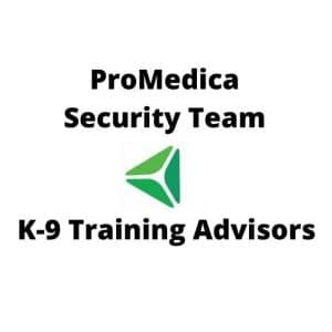 Dog Training Advisors ProMedica Security Team
